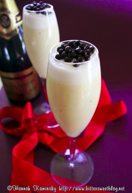 Hannah's Champagne Custard