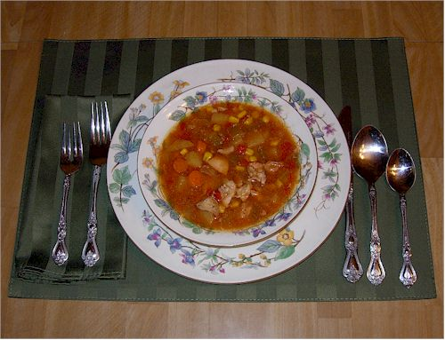 Linda's Slow Cooker Chicken Soup