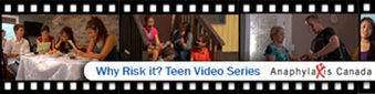 Teen Video Series - Food Allergies