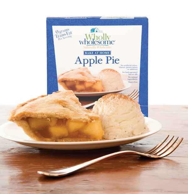 Wholly Wholesome Frozen Apple Pie