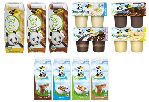 Zen Soy Organic Pudding and Soymilk