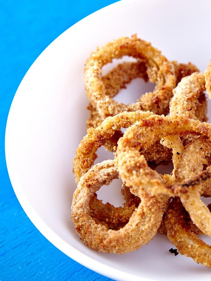 Omg Oven Baked Vegan Onion Rings Recipe