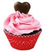 Divvies Valentine's Day Cupcakes - dairy-free, egg-free, nut-free, vegan