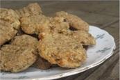 Flourless, Sugar-Free, Dairy-Free, Egg-Free Banana Cookies