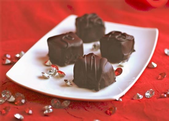 Vegan Chocolate Cheesecake Bites of Love
