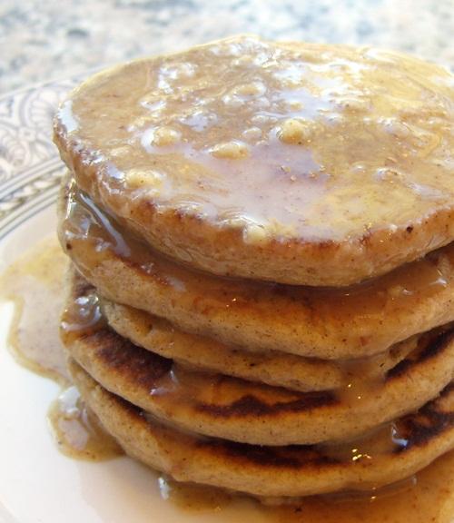 Dairy-Free Cinnamon Almond Pancakes