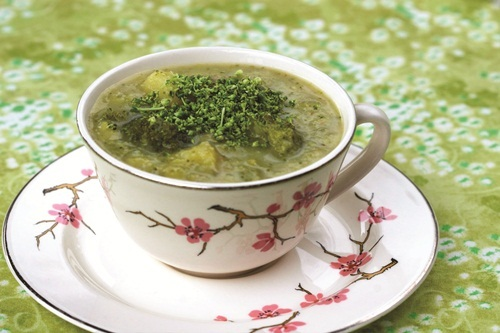 Appetite for Reduction: Vegan Bistro Broccoli Chowder