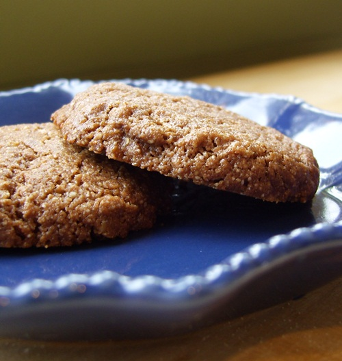 Chocolate Cashew Cookies - Grain-Free