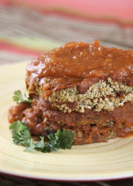 Allergen-Free Eggplant Parmesan