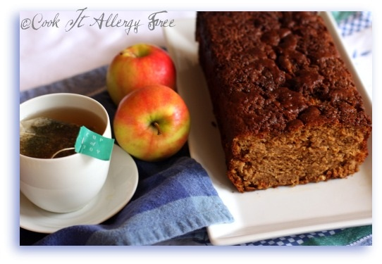 Chai-Spiced Gluten-Free Apple Bread