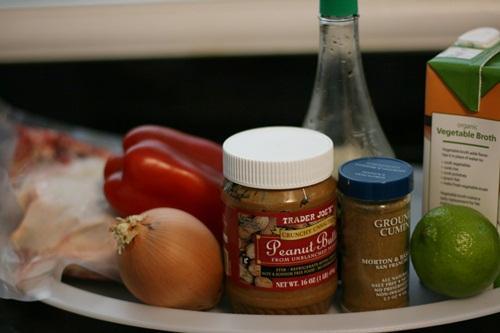 Dairy-Free Gluten-Free Crockpot Peanut Butter Chicken