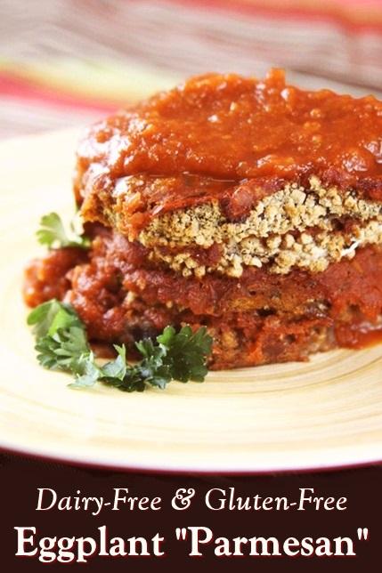 Baked Italian Eggplant in Marinara Recipe (Vegan, Gluten-Free, Nut-Free, Soy-Free & No Parmesan!)
