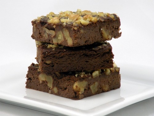 Walnut Black Bean Brownies - Gluten-Free and Dairy-Free
