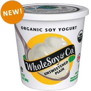 Whole Soy & Co. Dairy-Free, Vegan Unsweetened and Key Lime Yogurt