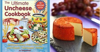 The Ultimate Uncheese Cookbook Review and Sample Recipe (a dairy-free, vegan cookbook focused on all things cheesy)