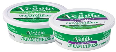 Galaxy Foods New Dairy-Free Veggie Cream Cheese Alternative