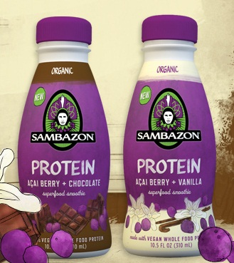 Sambazon Dairy-Free and Vegan Protein Drinks