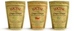 Lucini Cinque e' Cinque Tuscan Chickpea Frittata Mixes - Egg-Free and Dairy-Free