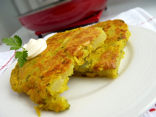 Vegan Spanish Tortilla - Egg-Free