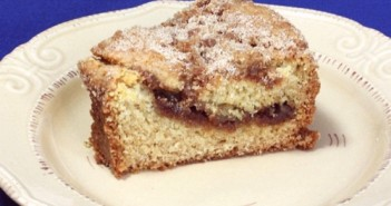 Around the Clock Vegan Coffee Cake - This decadent dessert has a delicious streusel topping and filling!