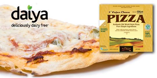 Vegan Pizza with Daiya Cheese