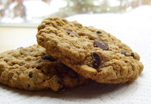 Gluten-Free, Vegan Oatmeal Cookies