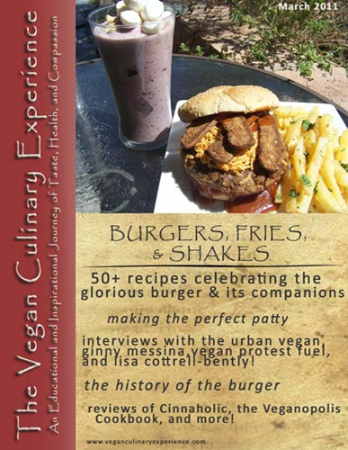 Vegan Culinary Experience - March / April Issue - Vegan Burgers and Fries