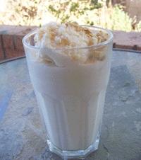 Dairy-Free Coconut Almond Shake w/ Optional Rum