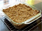 Strawberry Rhubarb Dairy-Free and Gluten-Free Crumble