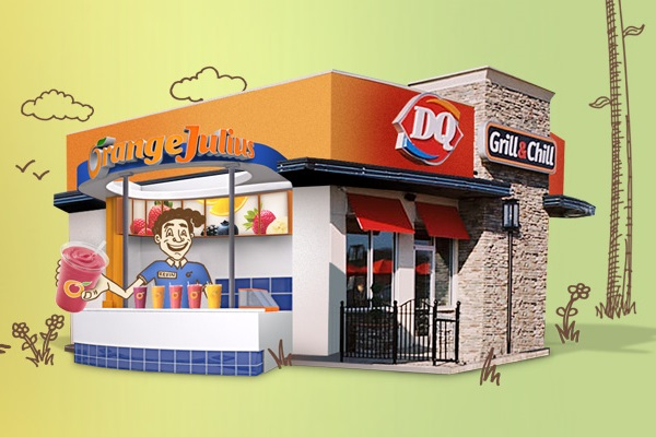 Dairy Queen and Orange Julius - Dairy-Free, Milk-Free, Orange Julius