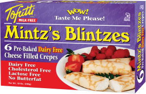 Mintz's Blintzes Reviews and Info - Dairy-Free Cheese Filled Crepes - frozen, ready to eat, kosher pareve