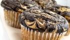 Self-Frosting Vegan Peanut Butter Cupcakes