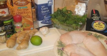 Dairy-Free Thai Chicken Coconut Soup