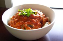Gnocchi in a Dairy-Free Tomato Basil Cream Sauce - healthy, vegan, gluten-free optional