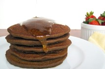 Easy Overnight Buckwheat Pancakes - naturally gluten-free, vegan, wholesome and raised with yeast!