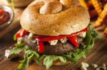 BBQ Portobello Mushroom Burgers Recipe - a marinated and grilled vegan main for barbecues