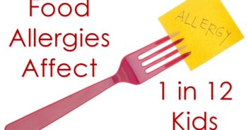 Conservative studies estimate that food allergies affect 8% of kids under age 18
