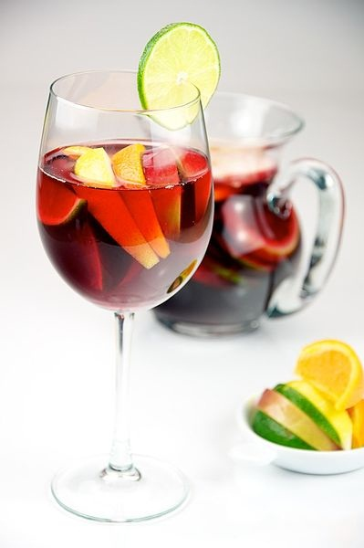 Breakfast Sangria - Photo Courtesy of Wikimedia