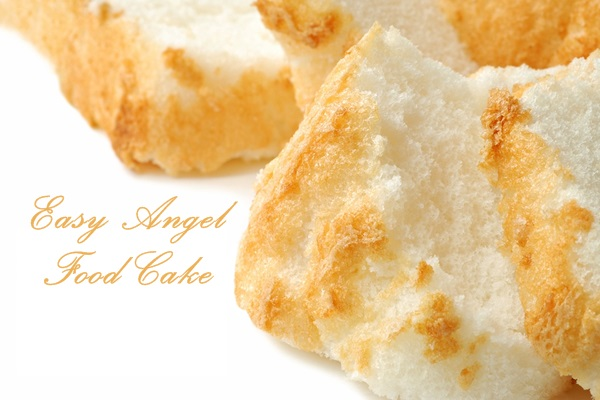 Dairy-Free and Easy Angel Food Cake Recipe