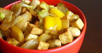 Golden Tofu Bowl with Mixed Vegetables Recipe (Vegan, Plant-Based, Dairy-Free, and optionally Gluten-Free)