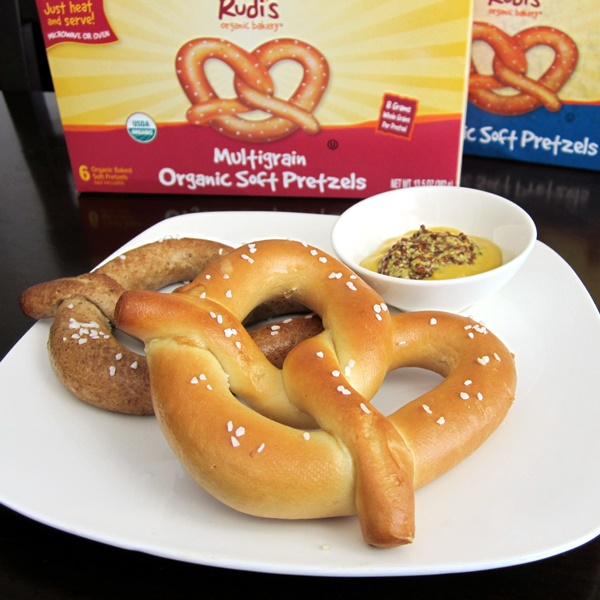 Rudi's Organic Bakery Soft Pretzels - Dairy-Free, Soy-Free, Peanut-Free, Vegan