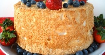 Gluten-Free / Dairy-Free (GFCF) Angel Food Cake Recipe
