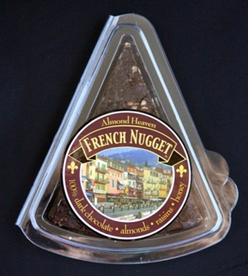 The French Nugget Dairy-Free Chocolate Nougat