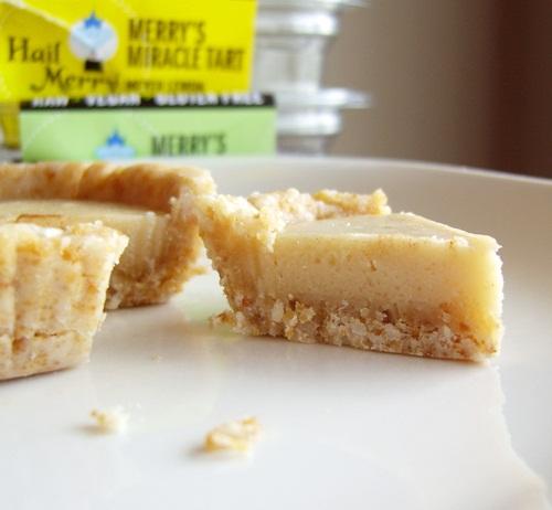 Raw Vegan Hail Merry Miracle Tarts - Dairy-Free, Gluten-Free, Grain-Free