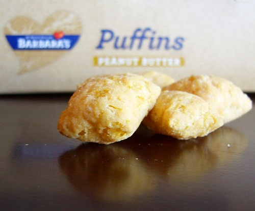 Peanut Butter Puffins from Barbara's Bakery