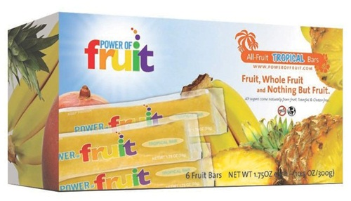 Power of Fruit Sugar-Free Natural Fruit Bars