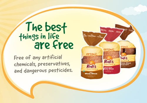 Rudi's Organic Bakery - Bread Free of Dairy, Soy, Eggs, and Peanuts