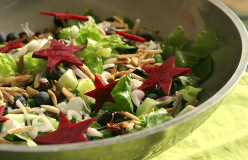 Star Spangled Salad - Whole Foods, Healthy, Vegan