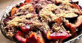 Plum Good Paleo Peach Pie Recipe - dairy-free, gluten-free, and vegan optional!