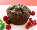 Berry Chocolate Muffins - Vegan